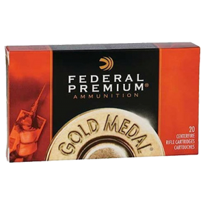 Federal Cartridge Gold Medal Target .260 Remington Sierra MatchKing BTHP, 142 Grain (20 Rounds) - GM260M