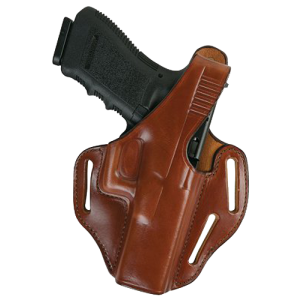 Bianchi 24096 77 Piranha Govt 45 ACP Leather Tan - 24096
