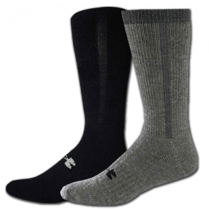 UA ColdGear Cushion Boot Sock Color: Foliage Green Size: Medium