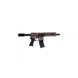 "Diamondback DB15 .223 Remington/5.56 NATO 30+1 10.5"" AR Pistol in Flat Dark Earth - DB15PFDE10"