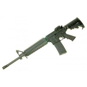 """Spike's Tactical ST-15 .223 Remington/5.56 NATO 30-Round 16"""" Semi-Automatic Rifle in Black - STR5035-MLS-C"""
