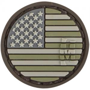 USA Flag Micropatch 0.98  x 0.98  (Arid)