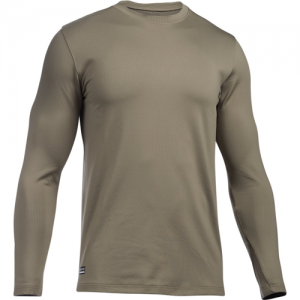 Under Armour Coldgear Men's Long Sleeve Shirt in Federal Tan - Small
