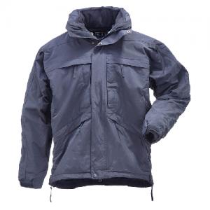 5.11 Tactical 3-in-1 Men's Full Zip Jacket in Dark Navy - X-Small