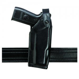 Safariland 6520 SLS EDW Level II Retention Belt Holster for Taser X2 in STX Black Tactical (Right)