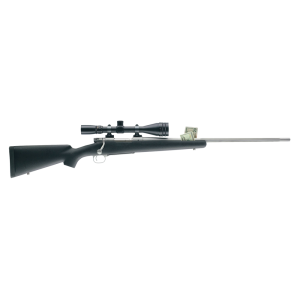 "Winchester 70 Extreme Weather SS .338 Winchester Magnum 3-Round 26"" Bolt Action Rifle in Stainless Steel - 535206236"