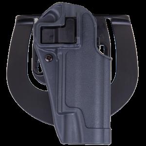 Blackhawk Serpa Sportster Right-Hand Paddle Holster for Heckler & Koch USP Compact in Grey - 413509BKR