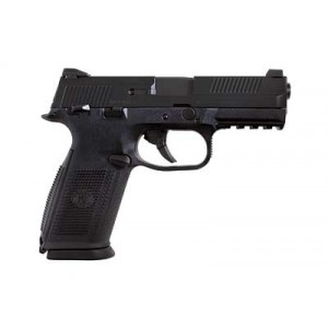 """FN Herstal FNS-9 Compact 9mm 17+1 3.6"""" Pistol in Black (Manual Safety) - 66771"""