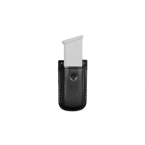 Don Hume Clip-on Magazine Pouch, Fits Glock 42 Magazines, Black Leather D739100 - D739100