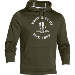 Under Armour Property Of Men's Pullover Hoodie in Greenhead - Small