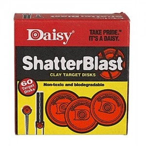 """Daisy 60 Count 2"""" ShatterBlast Clay Targets 873"""