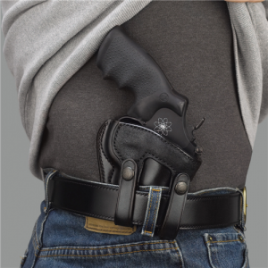 SUMMER COMFORT INSIDE PANT HOLSTER Gun FIt: S&W - N FR .357 Model 27/28 4  Color: BLACK Hand: Right Handed - SUM126B