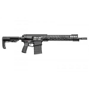 "Patriot Ordnance Factory P-308 Edge, Semi-automatic Rifle, 308 Win, 16.5"" Barrel, Black Finish, 20rd, 14.5"" Mlok Rail 01208"