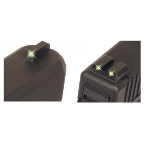 Truglo Tritium Pistol Night Sig Sauer Green Front and Rear TG231S1
