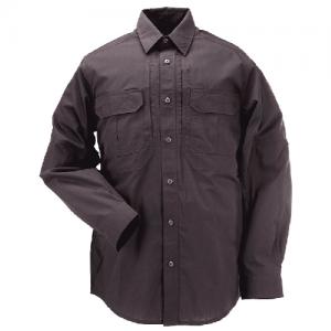5.11 Tactical Taclite Pro Men's Long Sleeve Uniform Shirt in Charcoal - Medium