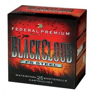 """Federal Cartridge Premium Black Cloud Waterfowl .12 Gauge (3"""") 4 Shot Steel (25-Rounds) - PWB1424"""