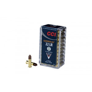 CCI Speer CCI .22 Long Rifle Copper, 21 Grain (50 Rounds) - 925CC