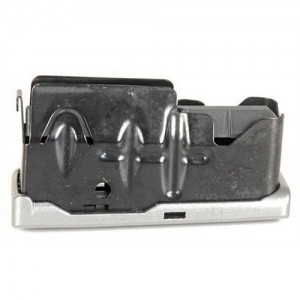 Savage 4 Round Stainless Magazine w/Bottom Release Latch For 16C/12 22-250 Rem. 55108