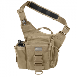 Maxpedition Fatboy Waterproof Sling Backpack in Khaki 1050D Nylon - 0412K