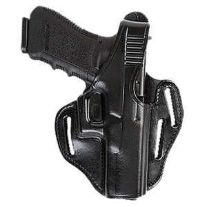 Bianchi 24106 77 Piranha Glock 19/23/36 Leather Black - 24106
