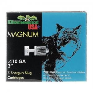 """Brenneke USA Magnum .410 Gauge (3"""") Slug (Sabot) Lead (5-Rounds) - SL4103M"""