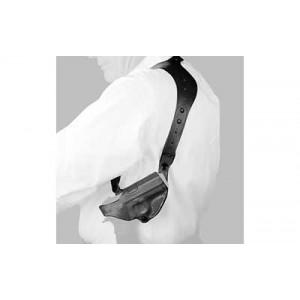 "Desantis Gunhide 11Z C.E.O. Right-Hand Shoulder Holster for Smith & Wesson M&P Shield in Black (3.1"") - 11ZBAX7Z0"