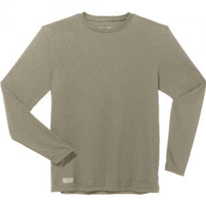 Under Armour HeatGear Men's Long Sleeve Compression Tee in Desert Sand - 2X-Large
