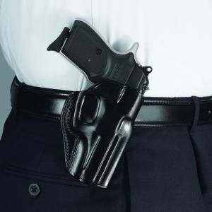 Galco International Stinger Right-Hand Belt Holster for Taurus 709 Slim in Black - SG492B