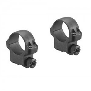 """Ruger 1"""" Medium Matte Blue Scope Ring For Hawkeye Rifle In Clamshell Package 90278"""