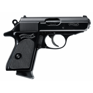 "Walther PPK.380 ACP 6+1 3.3"" Pistol in Blued Steel - 2246002"