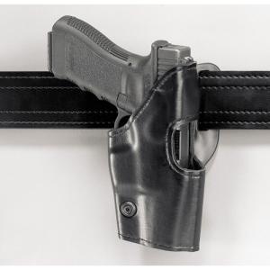 Safariland 295 Mid-Ride Level II Retention Left-Hand Belt Holster for Glock 26, 27 in Black Basketweave - 295-83-82