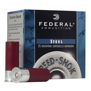 "Federal Cartridge Speed-Shok Waterfowl .12 Gauge (2.75"") 4 Shot Steel (250-Rounds) - WF1474"