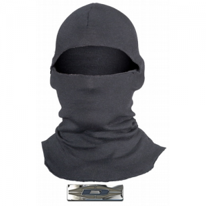 NH500L LIGHTWEIGHT HOOD BALA  Damascus NH50L Lightweight Hood Balaclava with Fire Retardant Nomex, 18 Inch, Black