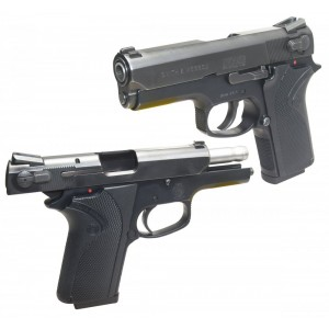 """Pre-Owned Smith & Wesson - Imported by LSY Defense 3914 9mm 8+1 3.5"""" Pistol in Black - SW3914-BC-PO"""