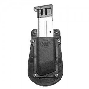 Fobus USA Single Magazine Pouch Magazine Pouch in Black Smooth Plastic - 39019