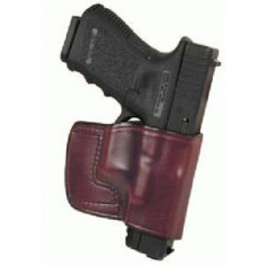 Don Hume Jit Slide Holster, Fits Ruger Sp101, Right Hand, Brown Leather J983800r - J983800R