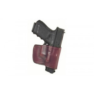 Don Hume Jit Slide Holster, Fits Springfield Xd 9mm/40s&w & Sig 2022, Right Hand, Black Leather J966636r - J966636R