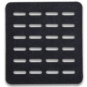 Vertx/Fechheimer MOLLE Adaptor Panel MOLLE Adaptor Panel in Black Smooth Velcro One-Wrap - VTX5130