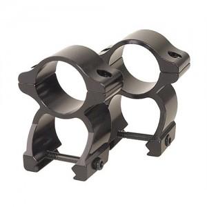 Leupold See Thru Rings w/Gloss Black Finish 57395