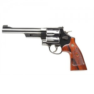 """Smith & Wesson 25 .45 Colt 6-Shot 6.5"""" Revolver in Blued (Classic) - 150256"""