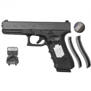 """Glock 17 9mm 17+1 4.49"""" Pistol in Tennifer Blued (Gen 4) - PG1750407"""
