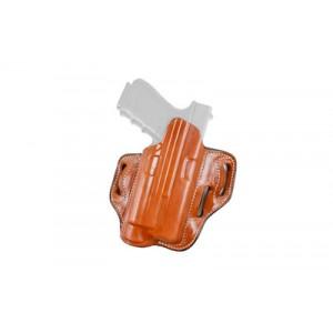 Desantis Speed Lite, Belt Holster, Fits Glock 17, 22 With Streamlight M3, Left Hand, Tan Leather 132tbw8z0 - 132TBW8Z0