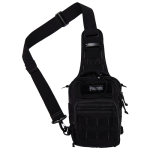 Maxpedition Remora Gearslinger Waterproof Sling Backpack in Black 1050D Nylon - 0419B