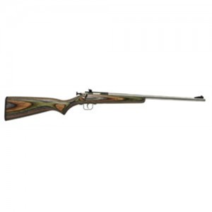 """Crickett Single Shot .22 Long Rifle 16.12"""" Bolt Action Rifle in Stainless Steel - 252SS"""