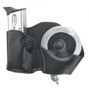 Gould & Goodrich Cuff and Magazine Case with Belt Loops Magazine/Handcuff Holder in Black - B841-4