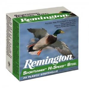 """Remington Sportsman Hi-Speed Load .12 Gauge (3"""") 1 Shot Steel (25-Rounds) - SSTHV12HM1"""