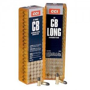 CCI Speer Quiet-22 .22 Long Rifle Round Nose, 29 Grain (100 Rounds) - 38