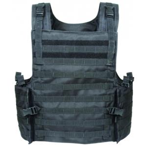 Armor Carrier Vest - Maximum Protection  Color: Black