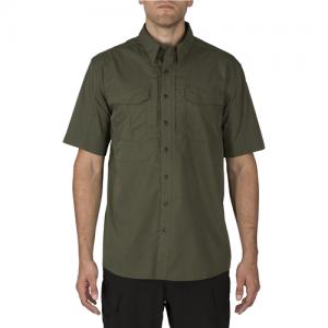5.11 Tactical Stryke Men's Uniform Shirt in TDU Green - X-Large