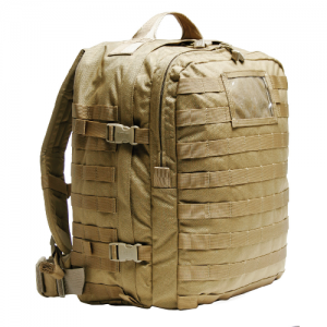 S.T.O.M.P. Medical BackPack  S.T.O.M.P. Medical BackPack Coyote Tan S.T.O.M.P. II was designed to SEAL team medic specifications. All material is made of heavy-duty 1000 denier nylon. All padded areas are closed cell foam. The adjustable shoulder straps,